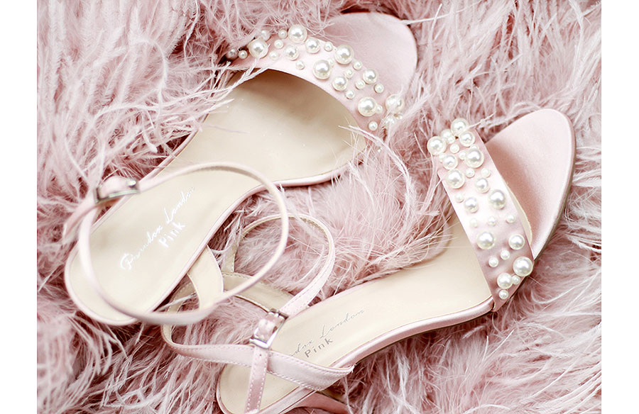 Wedding Bridal Occasion Shoes Pink Paradox Shoes
