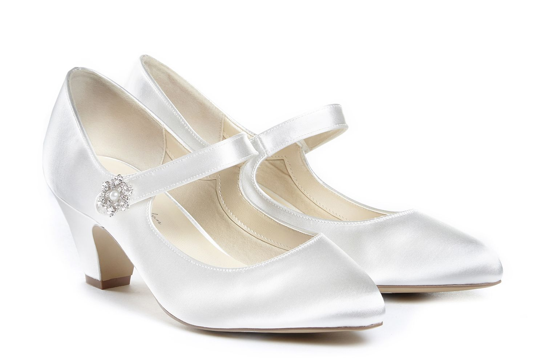 Abella Ivory Dyeable Wedding Shoe Wedding & Bridal Shoes