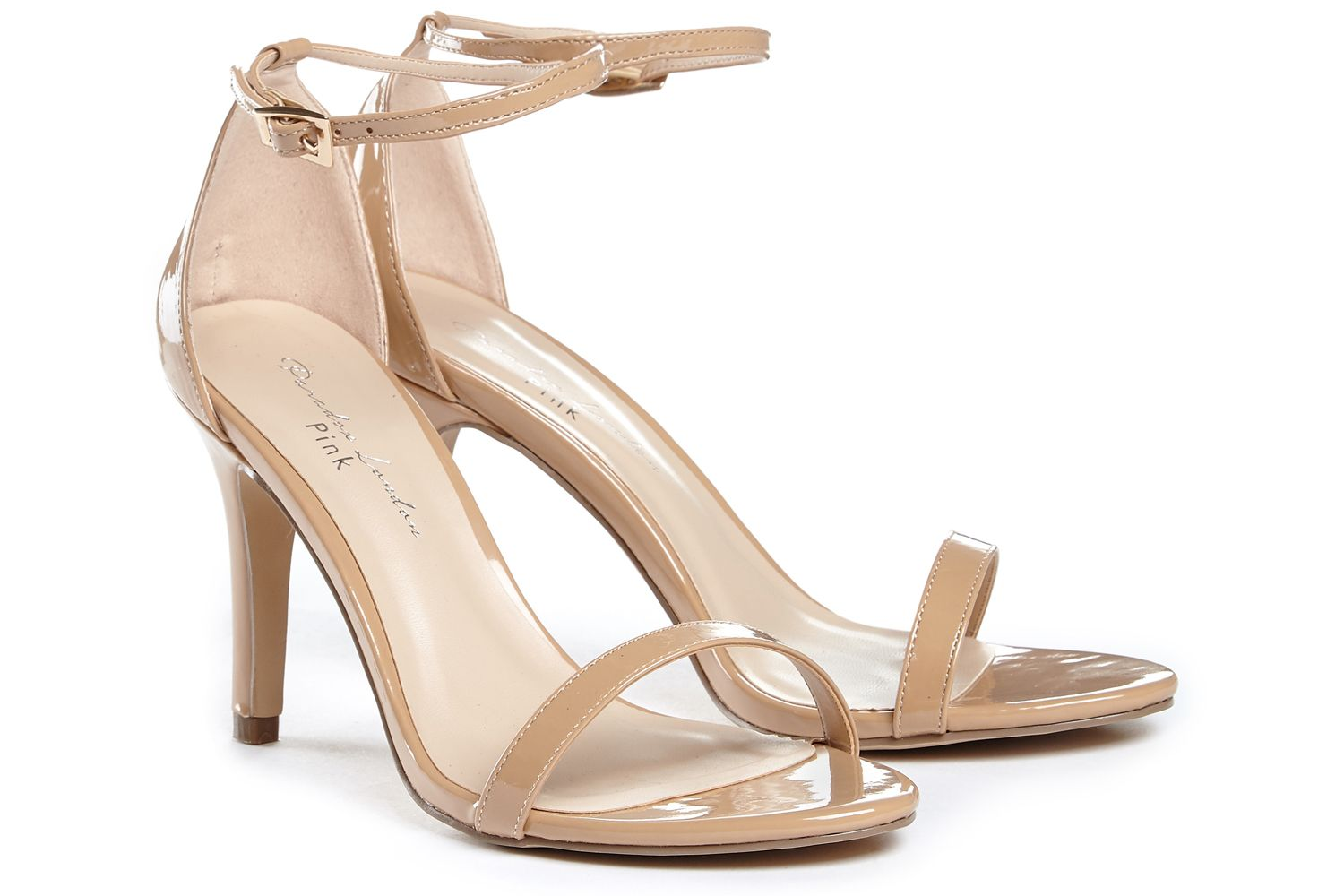 Mini Nude Patent Occasion Shoes