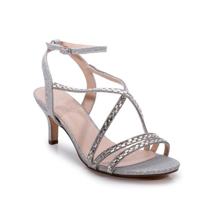 Hermina Silver Glitter Wide Fit Mid