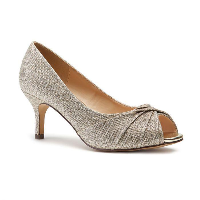 Mid Heel Peep Toe Shoe   Peep Toe Shoes