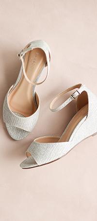 Shop ladies occasion peep-toe shoes