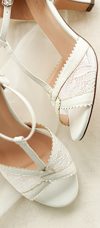 Shop ladies wedding peep-toe shoes