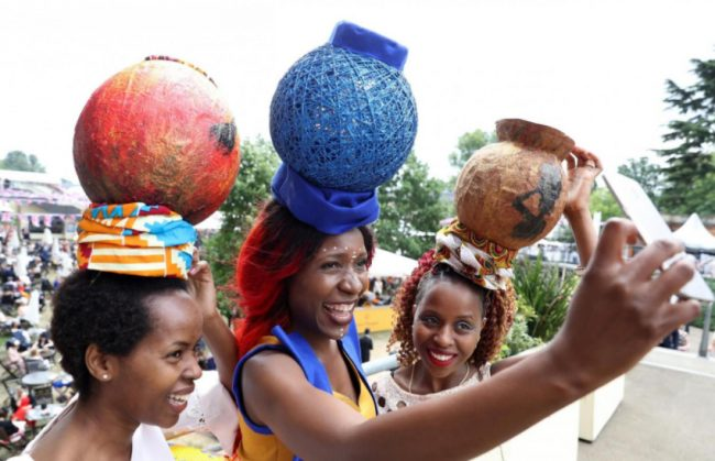 ladies in africa