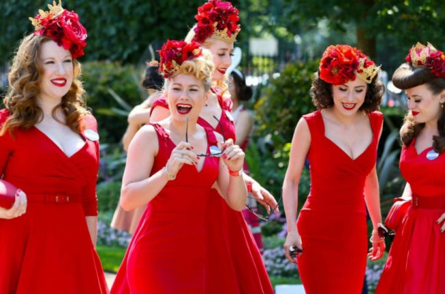 Ladies Day in Red