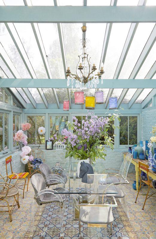 mapesbury house photo shoot conservatory