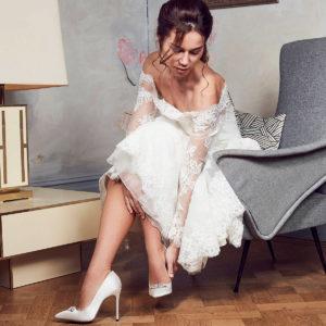 should I wear wedding shoes in?