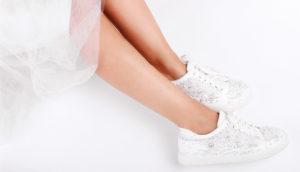 Wedding shoe trainers