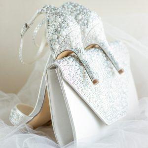 Hampton Daisie Glitter Clutch Bag