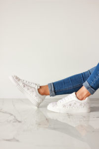 Occasion Shoes Embellished Trainers