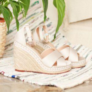 Silver Sandals - Yolanda
