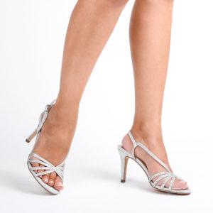 silver sandals hattice