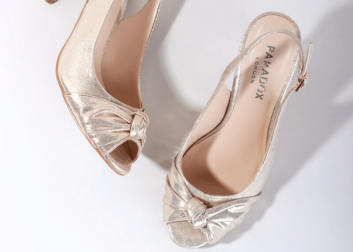 Occasion Peep Toe Shoes, Paradox London