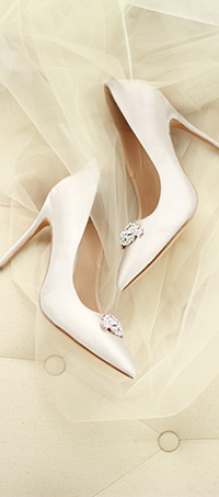 Shop ladies wedding court shoes