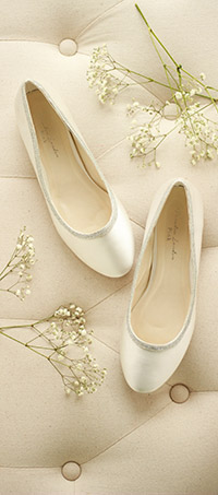 Shop ladies wedding flat shoes