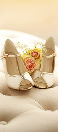 Shop ladies wedding peep-toe shoes