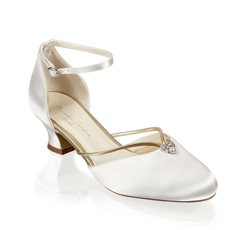 Vintage Wedding Shoes, Flats, Boots, Heels ALIYA 42 £69.00 AT vintagedancer.com