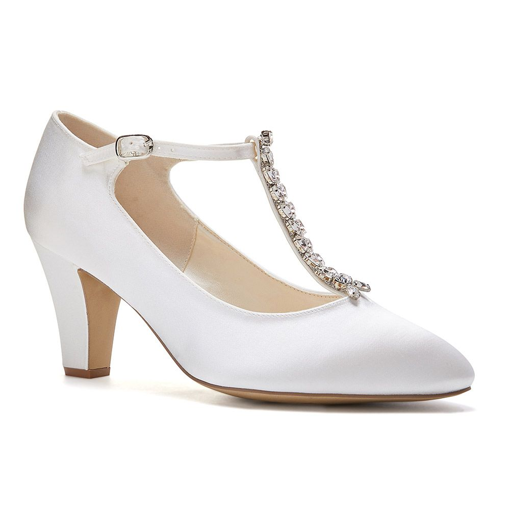 Vintage Wedding Shoes, Flats, Boots, Heels AMAAL 41.5 £79.00 AT vintagedancer.com