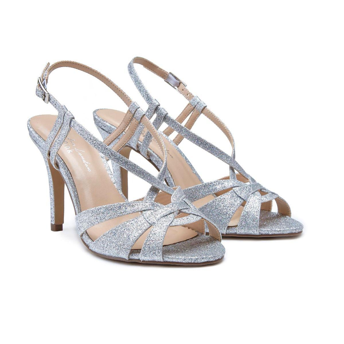 Silver Wedding Shoes.Mandi