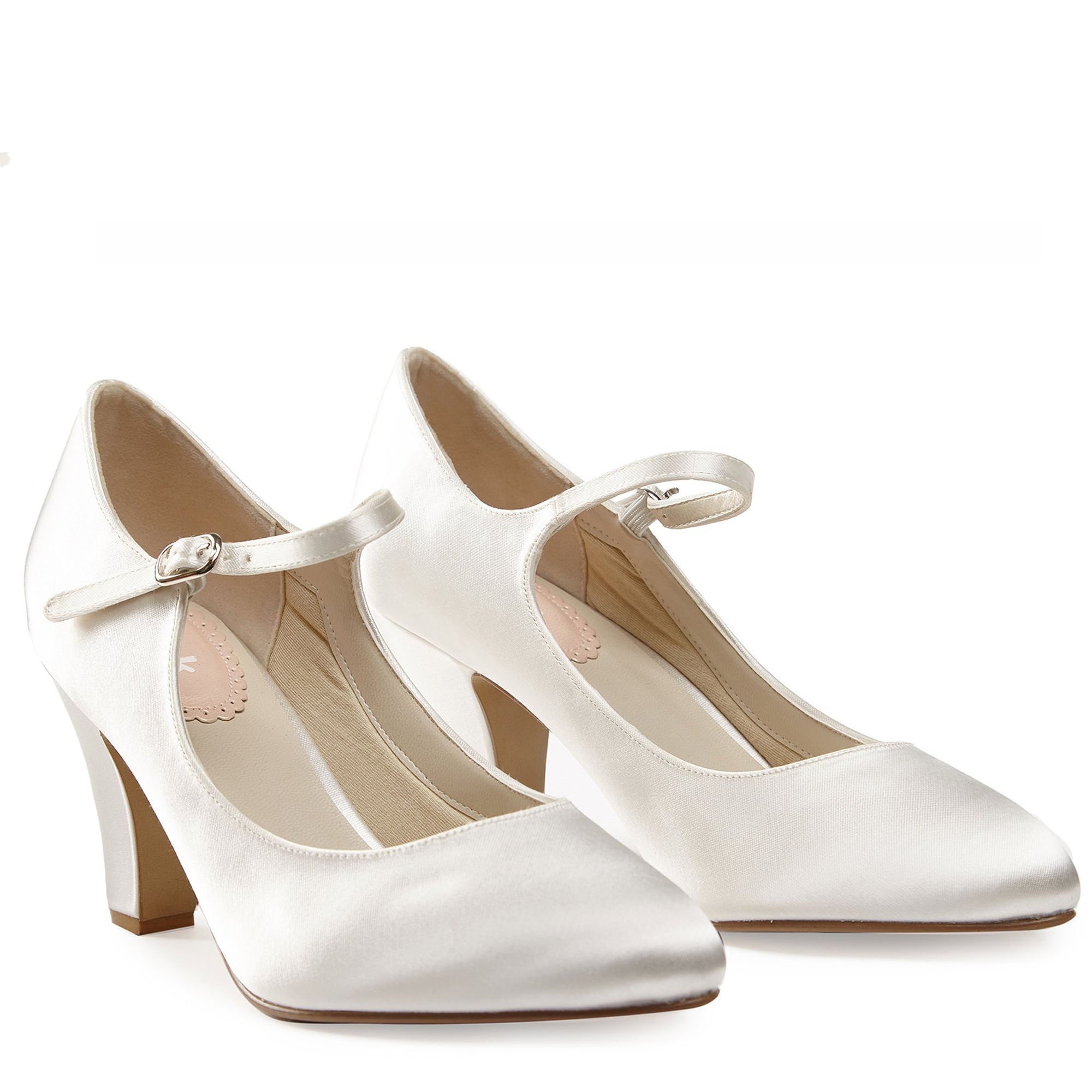 1920s Style Shoes Radiance Ivory - Size 42 £69.00 AT vintagedancer.com