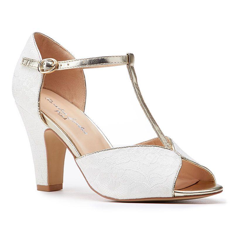 Vintage Wedding Shoes, Flats, Boots, Heels QUENTIN 41 £49.00 AT vintagedancer.com
