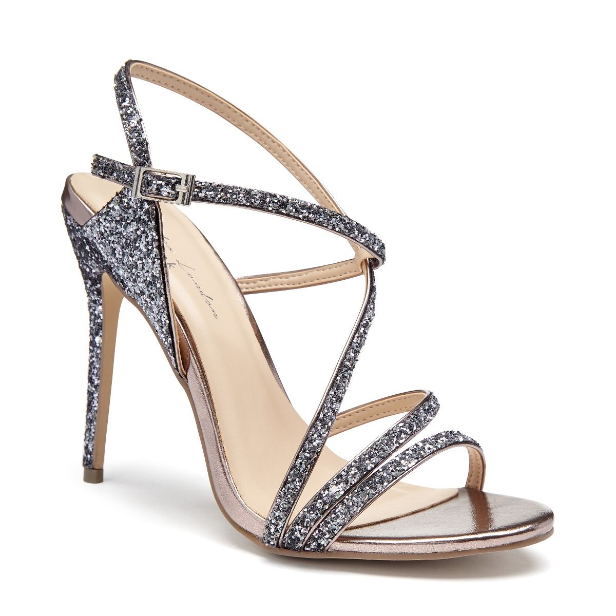 0b3af92c00ad Saffie pewter glitter high heel strappy sandal embellished silver sandals  occasion shoes paradox london jpg 1200x1200