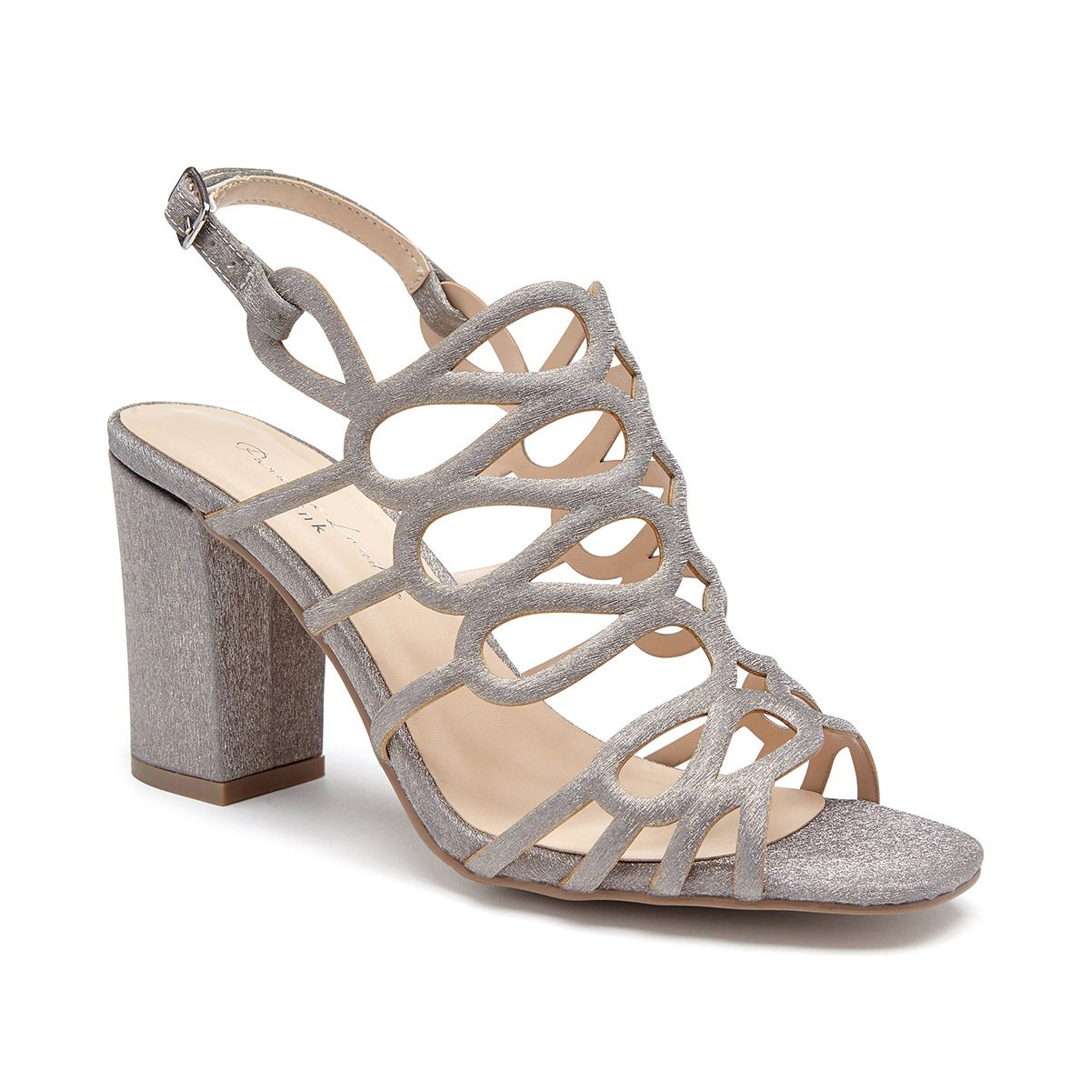 7663011f6814 Salisa Taupe High Block Heel Sandal | Sandals | Occasion Shoes | Paradox  London