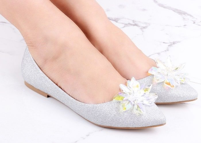 Ladies Wedding Flat Shoes