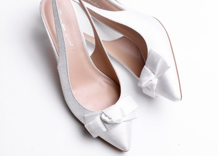 Ladies Wedding Court Shoes