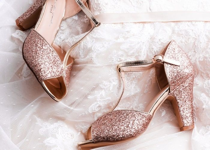 2afa29cb6a3c Peep Toe Wedding Shoes