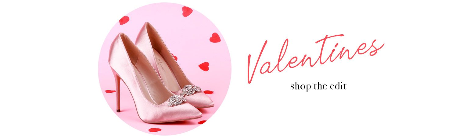 Valentines Banner, Occasion Shoes, Wedding Shoes, Paradox London