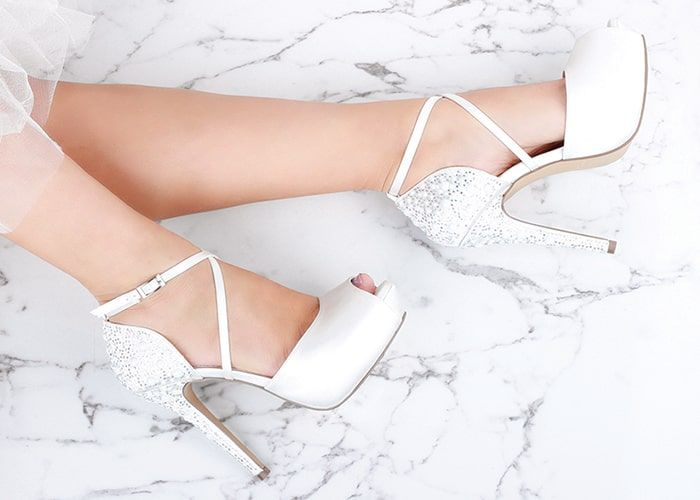 Ladies Wedding Platform Shoes