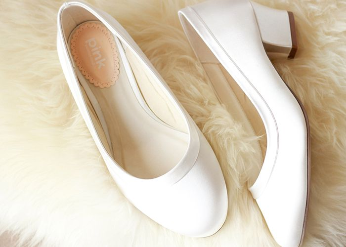 Ladies Wedding Wide Fit Shoes