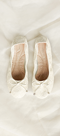 Shop ladies wedding flat shoes